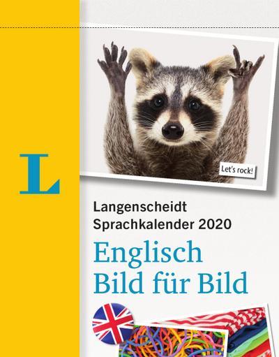 LG Sprachkalender 2020 Englisch Bild für Bild