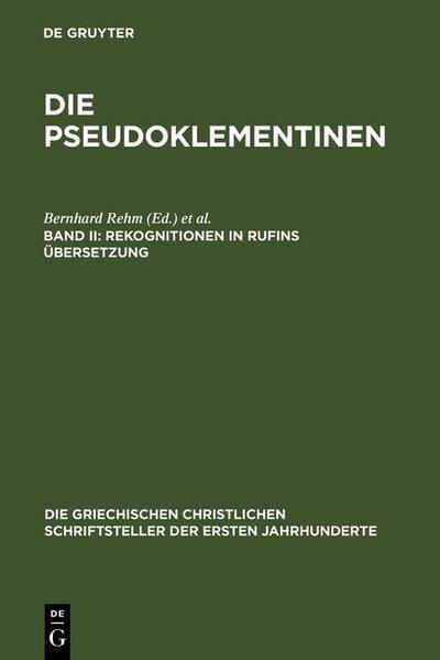 Rekognitionen in Rufins Übersetzung