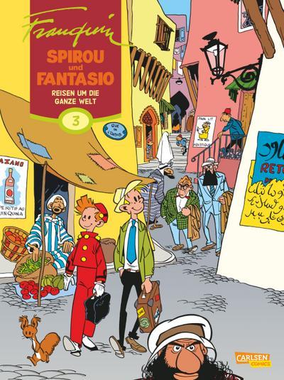 Spirou & Fantasio Gesamtausgabe 03: Einmal um die Welt