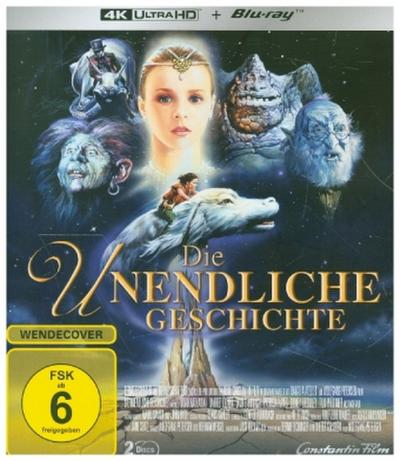 Die Unendliche Geschichte 4K, 1 UHD-Blu-ray + 1 Blu-ray