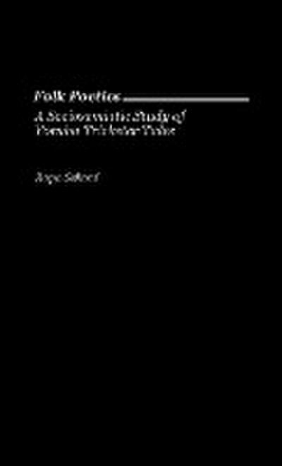 Folk Poetics: A Sociosemiotic Study of Yoruba Trickster Tales