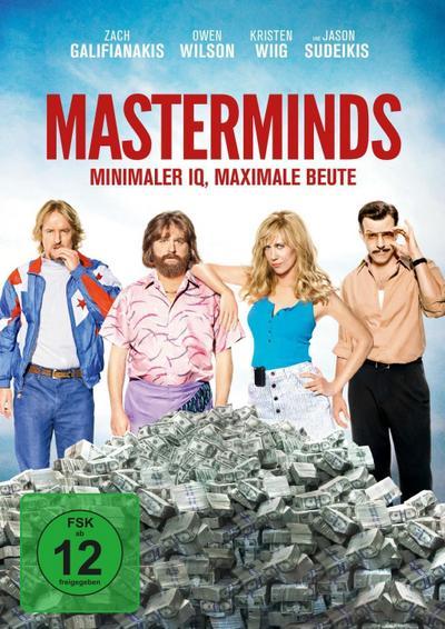 Masterminds - Minimaler IQ, maximale Beute