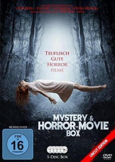 Mystery & Horror-Movie Box, 5 DVD