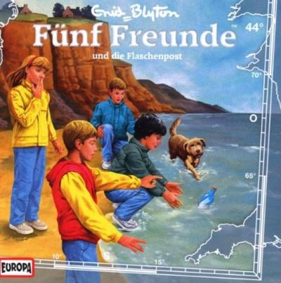 Fünf Freunde 044: ... und die Flaschenpost