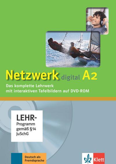Netzwerk A2. Digitales Unterrichtspaket. DVD-ROM
