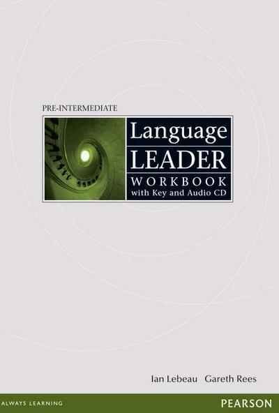 Language Leader Pre-Intermediate: Workbook with Key and Audio CD Pack