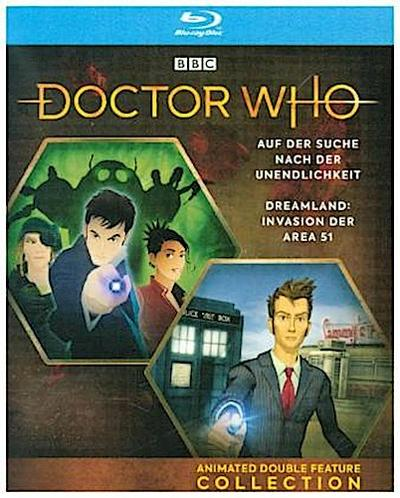Doctor Who - Anime Double Feature Collection: Dreamland / Auf der Suche nach der Unendlichkeit, 1 Blu-ray