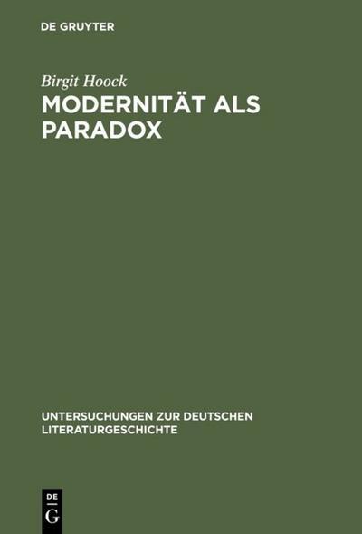 Modernität als Paradox