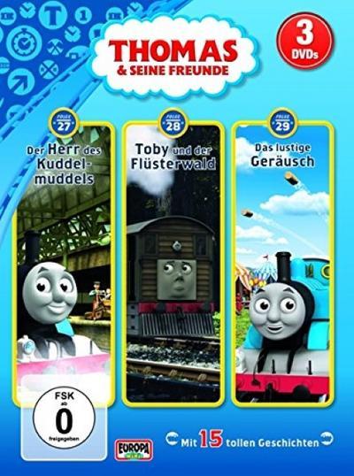Thomas und seine Freunde 3er DVD 04. Folgen 27, 28, 29