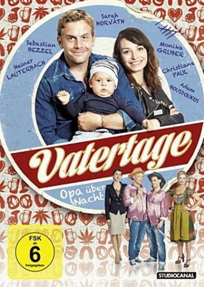 Vatertage - Opa über Nacht, 1 DVD