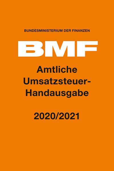 Amtliche Umsatzsteuer-Handausgabe 2020/2021