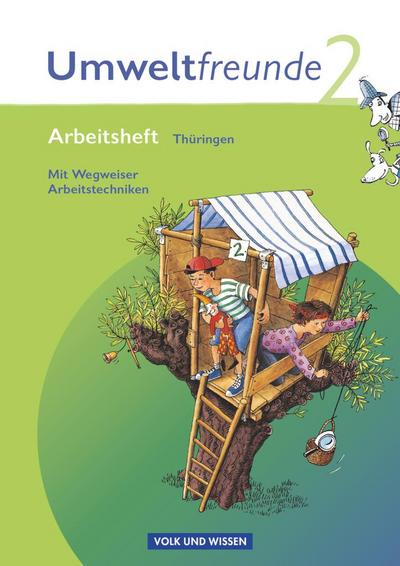 Umweltfreunde - Thüringen: 2. Schuljahr -Umweltfreunde Arbeitsheft