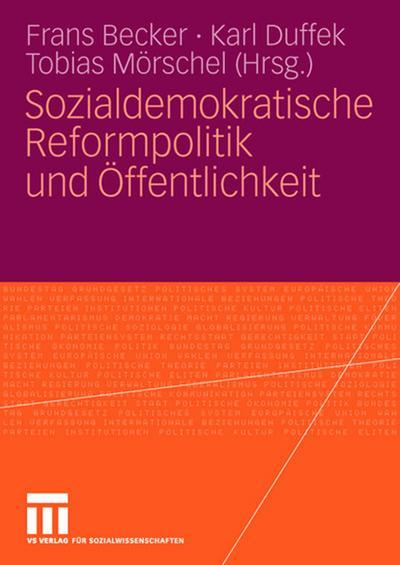 Sozialdemokratische Reformpolitik und Öffentlichkeit