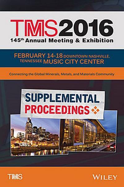 TMS 2016 Supplemental Proceedings