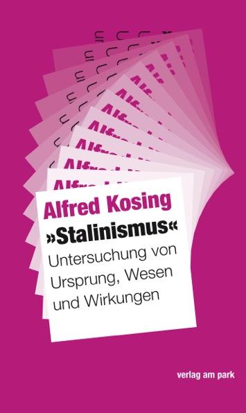 NEU 'Stalinismus' Alfred Kosing 187647
