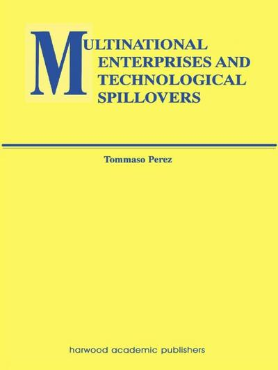 Multinational Enterprises and Technological Spillovers