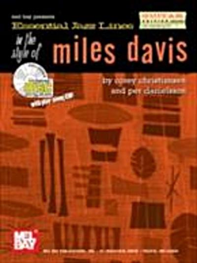 Essential Jazz Lines in the Style of Miles Davis - Guitar Edition