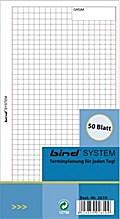 Systemplaner A6, Einlagenblätter kariert (Nr.B-2610)