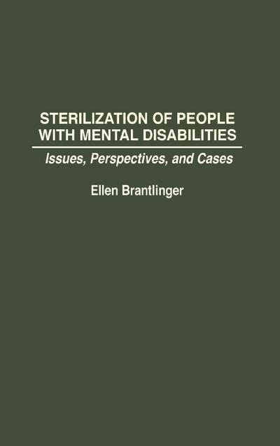Sterilization of People with Mental Disabilities