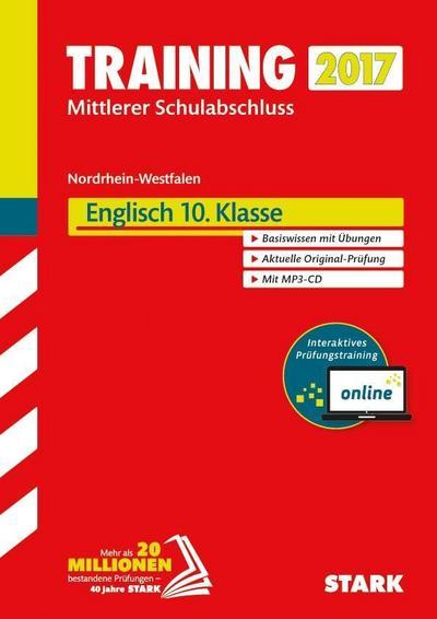 Training Zentrale Prüfung Realschule / Hauptschule Typ B NRW - Englisch mit MP3-CD - inkl. Online-Prüfungstraining