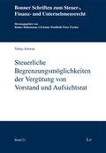 Steuerliche Begrenzungsmöglichkeiten der Verg ...