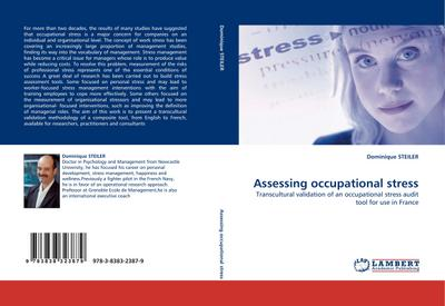 Assessing occupational stress