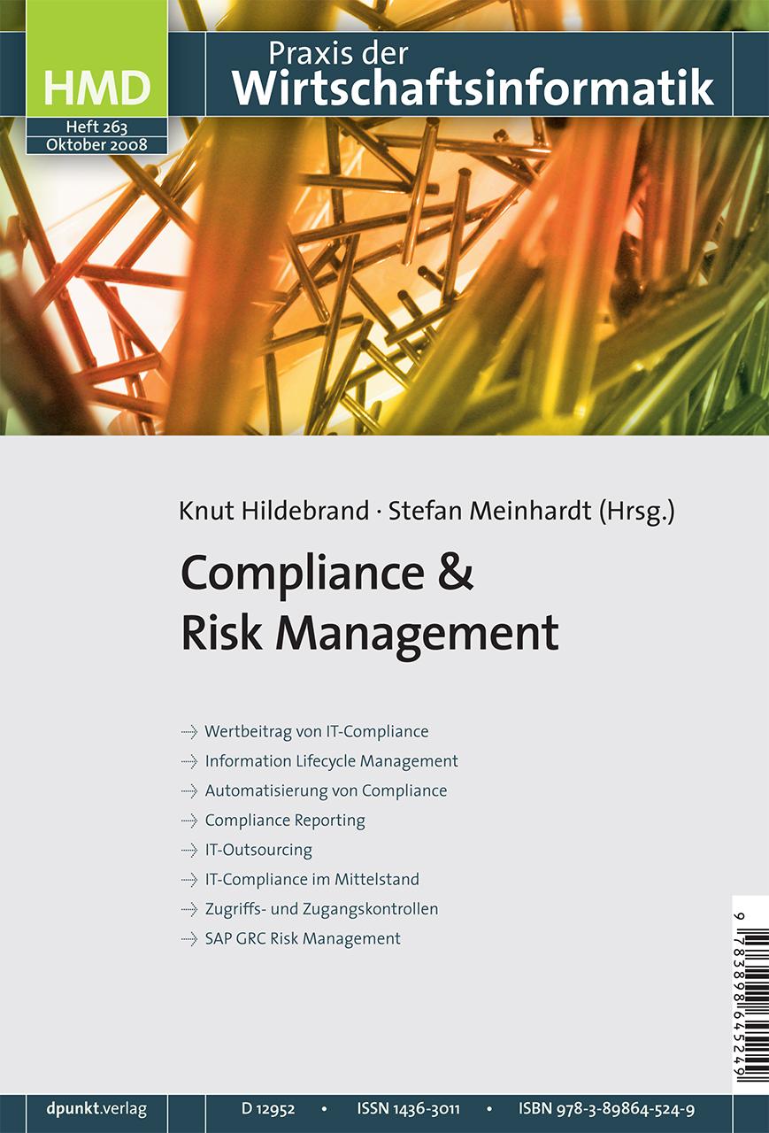 Compliance & Risk Management Knut Hildebrand