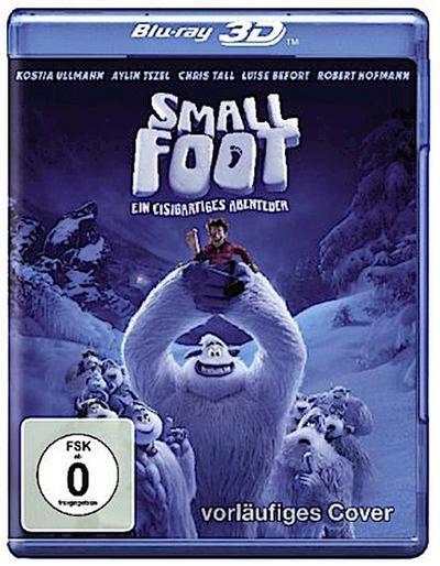 Smallfoot - Ein eisigartiges Abenteuer 3D, 1 Blu-ray