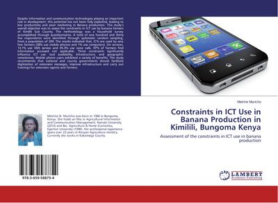 Constraints in ICT Use in Banana Production in Kimilili, Bungoma Kenya