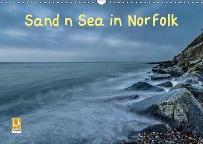 Sand n Sea in Norfolk (Wall Calendar 2019 DIN A3 Landscape)
