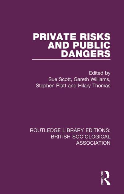 Private Risks and Public Dangers