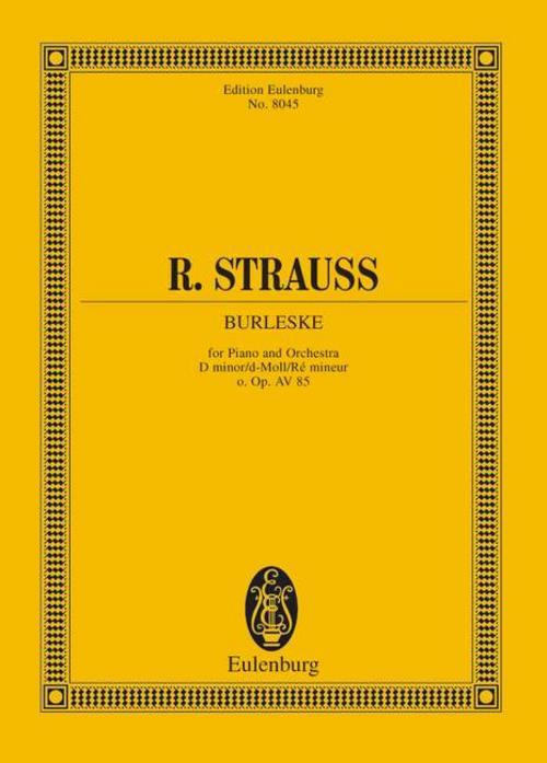 Burleske d-Moll Richard Strauss