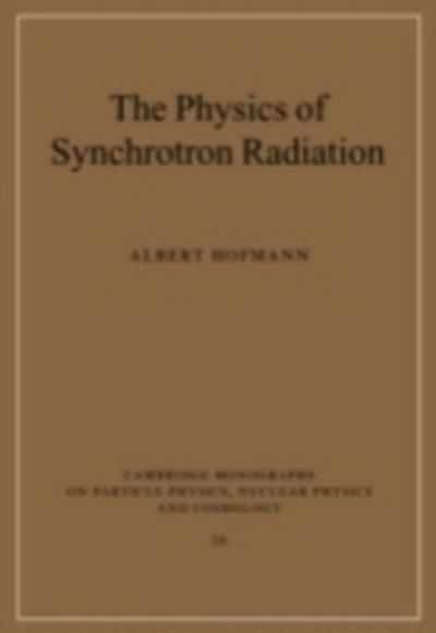 Physics of Synchrotron Radiation