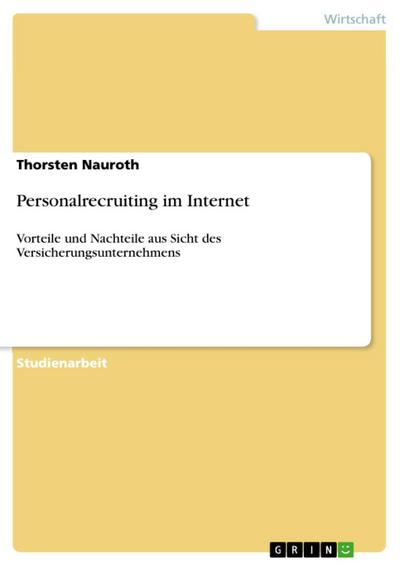 Personalrecruiting im Internet