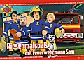 Riesenmalspaß mit Feuerwehrmann Sam