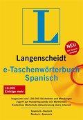 Langenscheidt e-Taschenwörterbuch Spanisch 6.0