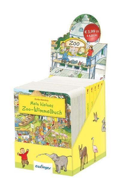 Display - Mein kleines Zoo-Wimmelbuch