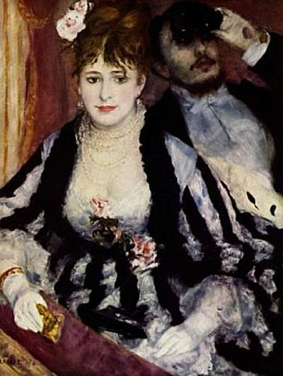 Pierre-Auguste Renoir - Die Loge (Die Orchesterloge) - 1.000 Teile (Puzzle)