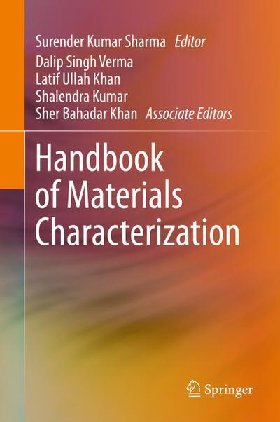 Handbook of Materials Characterization