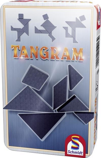 Schmidt Spiele Tangram in Metalldose - Schmidt Spiele - Spielzeug, Deutsch, , ,