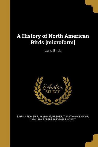 HIST OF NORTH AMER BIRDS MICRO