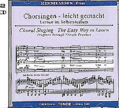 Elias op.70, Chorstimme Tenor, 1 Audio-CD