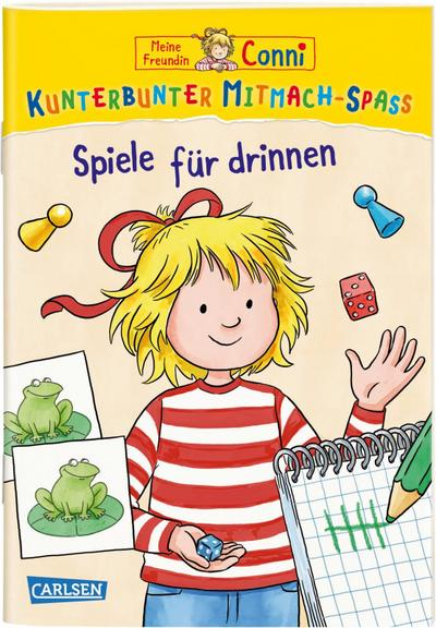 VE 5 Meine Freundin Conni: Kunterbunter Mitmach-Spaß - Connis Spiele für drinnen