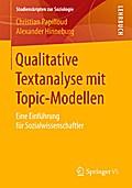 Qualitative Textanalyse mit Topic-Modellen