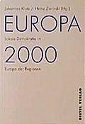 Europa 2000.  Lokale Demokratie im Europa der ...