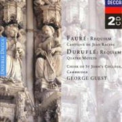 Fauré: Requiem/Duruflé: Requiem/Poulenc: Motets