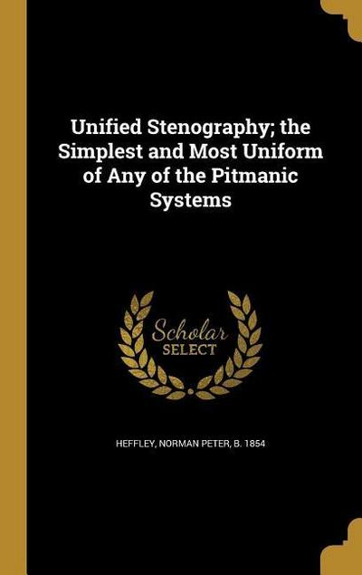 UNIFIED STENOGRAPHY THE SIMPLE