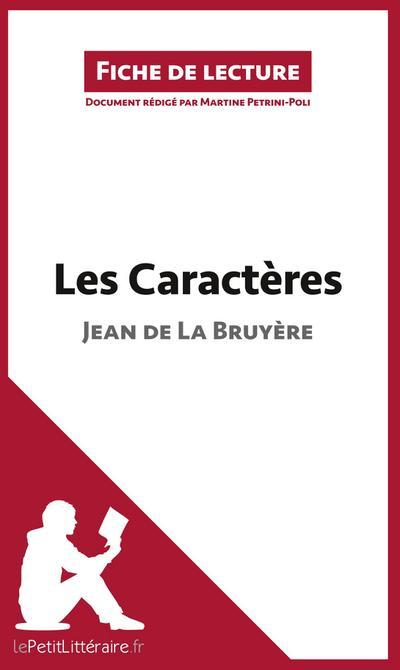 Les Caractères de Jean de La Bruyère (Fiche de lecture)