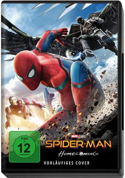Spider-Man Homecoming, 1 DVD
