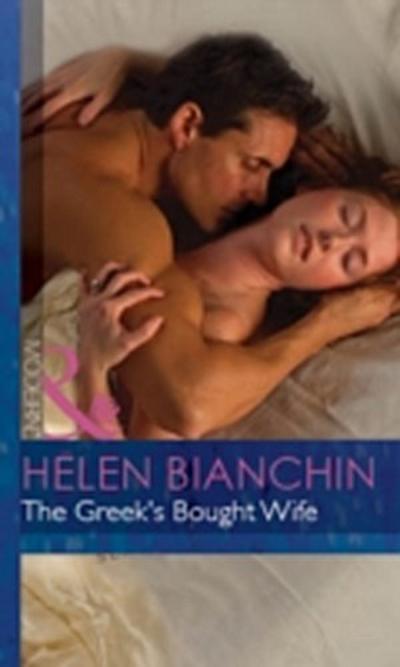 Greek's Bought Wife (Mills & Boon Modern) (Wedlocked!, Book 52)